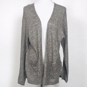 Soft Joie Damasia Linen Blend Open Front Cardigan